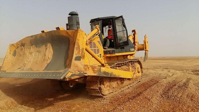 Bulldozer GTY320 lleno